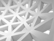 Abstract 3d background with white triangle wire