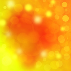 gold elegant abstract background with bokeh
