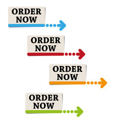 order now stickers and labels vector