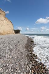 Steine der Steilküste