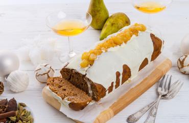 French Christmas cake