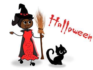 Hexe, Halloween, Kostümparty No2