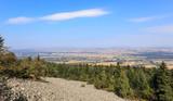 Gołoborze na stoku Łysej Góry, Góry Świetokrzyskie