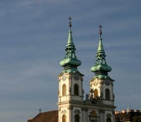 Wieże Kościóła św Anny, Budapeszt