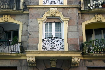 Barokowy balkon, Budapeszt
