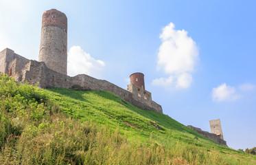 Checiny Royal Castle near Kielce, Poland