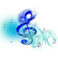 chiave violino nel blu