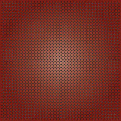 Metal perforated texture brown background