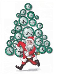 The hours of Santa Claus