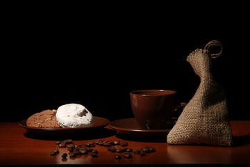 cookies, sweets with coffee beans
