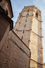 Micalet tower, Valencia City, Spain