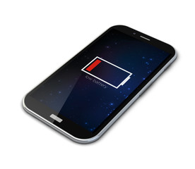 out of energy smartphone