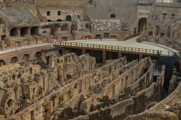 Inside the Colosseum Rome