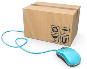 Internetbestellung Paket