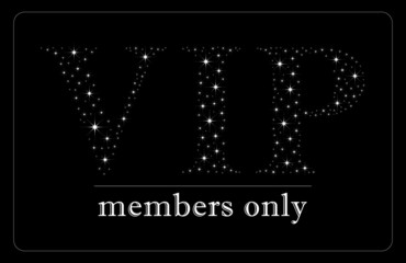 VIP Members only card VIP card design