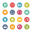 Communication Icons -- Fresh Colors Series