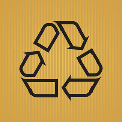 Recycling Symbol Outlined