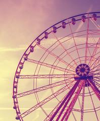 Vintage Retro Ferris Wheel