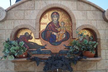Святой источник в Всесвятском храме, Беларусь