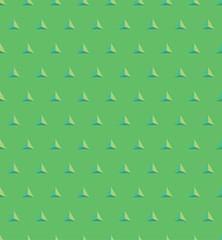 Green seamless triangle pattern
