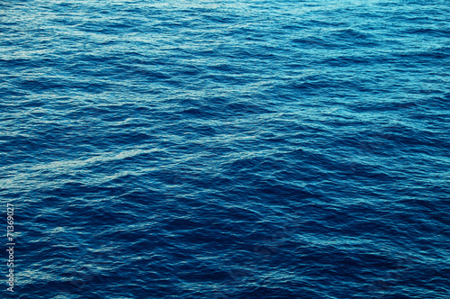 canvas print picture Blue Water Texture