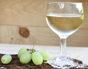 Verre de vin blanc sec