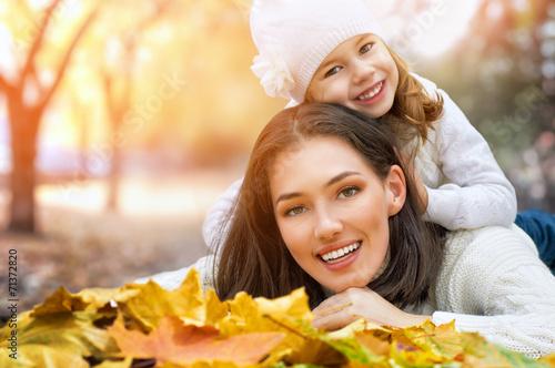 canvas print picture autumn park