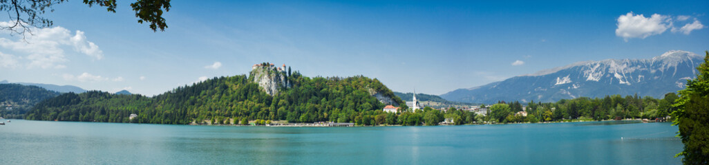 panorama of bled