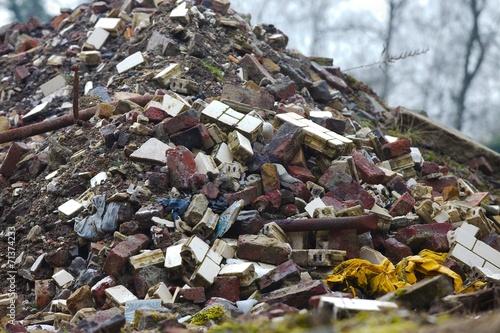 Debris pile