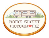 Home Sweet Motor Home, Class A Model, Cross Stitch Embroidery - 71375864