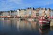 Vieux port d'Honfleur, France