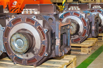 Electro actuators for maintenance of subway wagons
