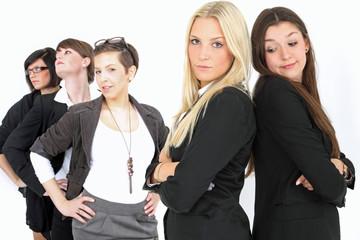 junge erfolgreiche Frauen