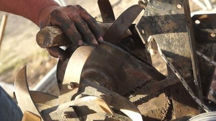 Repairing Plow Machine (3)