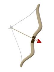 bow and arrow, cupid