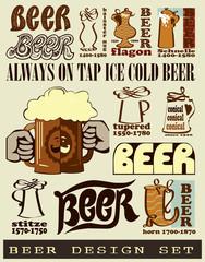 Beer design.