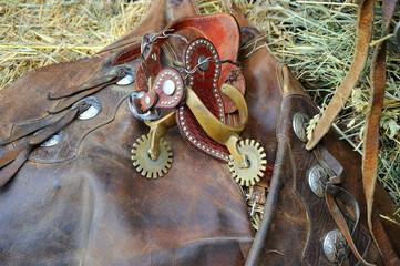 Western saddle gear.