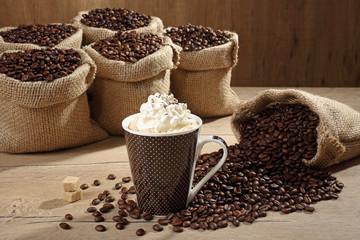 cappuccino in tazza