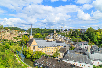 A panorama of a Luxembourg