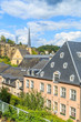 A view of a Luxembourg buildings