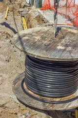 installing new ground infrastructure