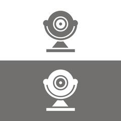 Icono cámara de vigilancia BN