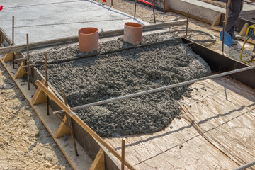 concrete bed for tracklaying 2