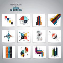 Mega Collection of  Infographics objects