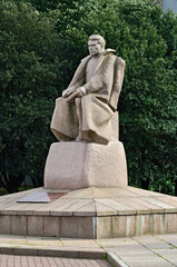 Monument to marshal Vasilevsky. Kaliningrad, Russia