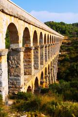 Roman aqueduct in Tarragona
