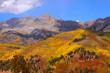 San Juan mountains in autumn time