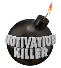 Motivation Killer Round Bomb Discouragement Bad Morale