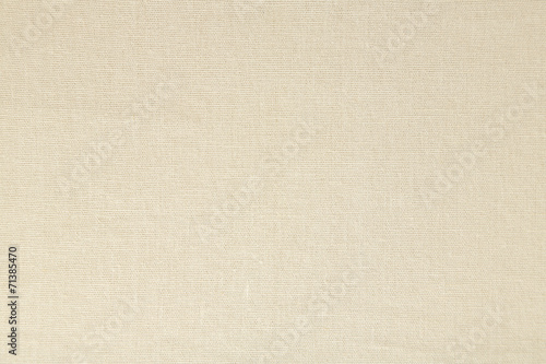 Leinwandbild Motiv Light natural linen texture background