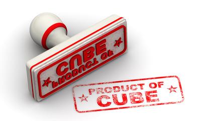 Продукт Кубы (product of Cube). Печать и оттиск